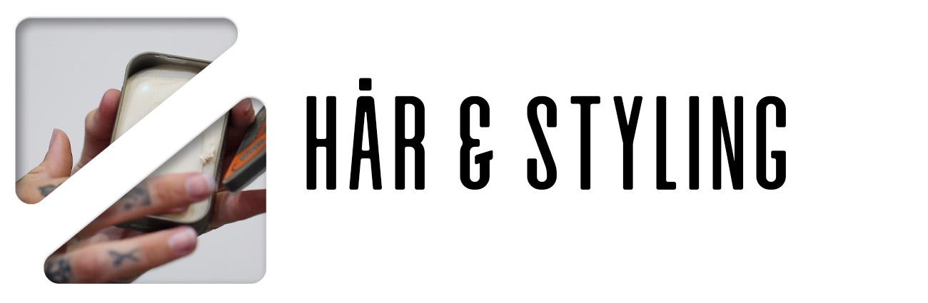 Hår & styling - barber size