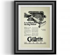 Barba Prints - Gillette Big Fellow A4