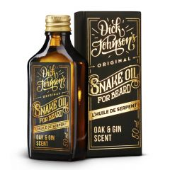 Dick Johnson Excuse My French Beard Oil Snake Oil Oak & Gin 50ml