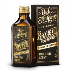 Dick Johnson Excuse My French Beard Oil Snake Oil Unscented 50ml