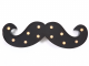 Barber Pro Moustache Light - Black