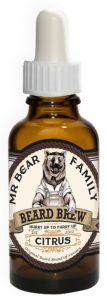 Mr Bear Brew skäggolja Citrus
