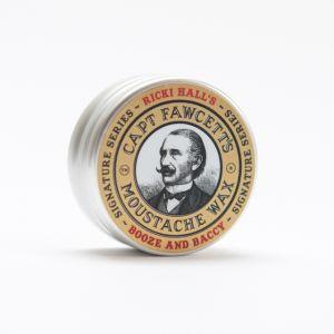 Captain Fawcett Moustache Wax Ricki Hall's Booze & Baccy