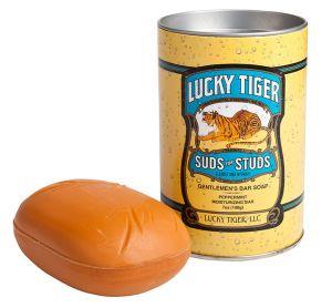 Lucky Tiger Suds for Studs Gentleman's Bar Soap