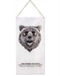 Mr Bear Family Banner - At Peace