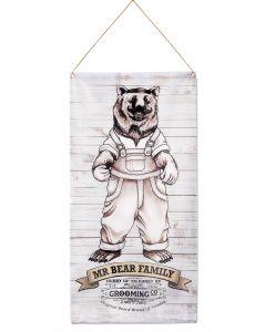 Mr Bear Family Banner - Logo