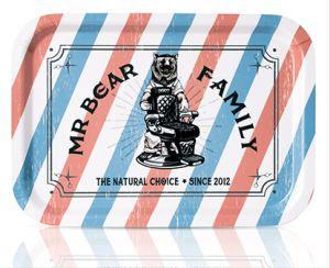Mr Bear Family Tray, square