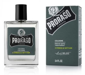 Proraso Cologne Cypress & Vetyver