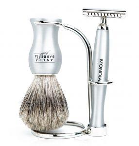 Mondial Titan Shaving Set Safety Razor