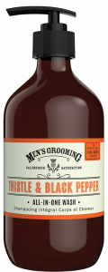The Scottish Fine Soaps Thistle & Black Pepper All-In-One Wash