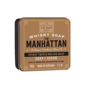 The Scottish Fine Soaps Whisky Soap, Manhattan