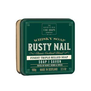 The Scottish Fine Soaps Whisky Soap, Rusty Nail