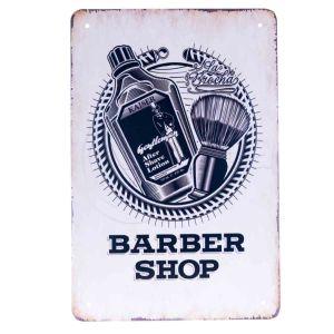 Barber Vintage Metal Sign #64
