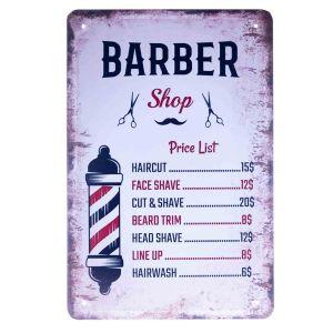 Barber Vintage Metal Sign #66