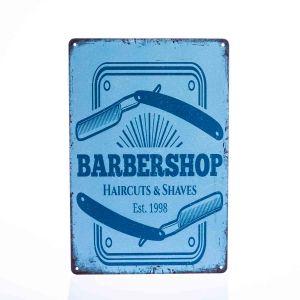 barber vintage sign barbershop