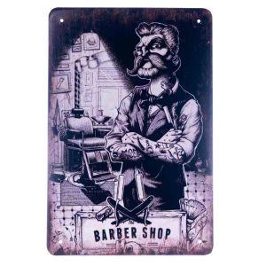 Barber Vintage Metal Sign #71