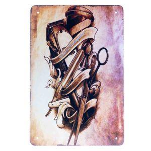 Barber Vintage Metal Sign #74