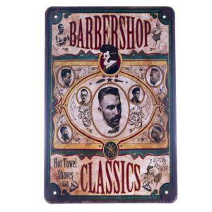 Barber Vintage Metal Sign #76